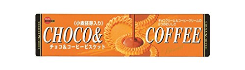 ブルボン チョコ&コーヒービスケット 24枚×12箱