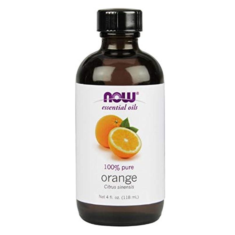 排除回転させる種Now - Orange Oil 100% Pure 4 oz (118 ml) [並行輸入品]