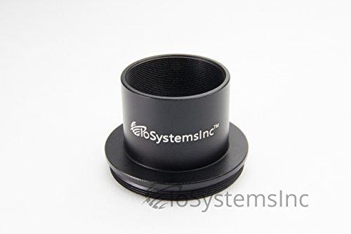 IoSystemsInc 望遠鏡 カメラ接続アダプター リング M48 M42 Tリング 2インチ 1.25インチ変換リング [国内正規品] (1.25インチ差込 Tネジオス(M42P0.75))