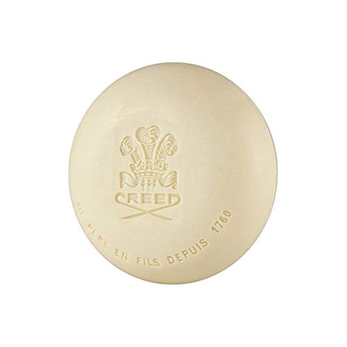 呼吸する遺体安置所くつろぎ[Creed ] 信条元サンタル石鹸150グラム - Creed Original Santal Soap 150G [並行輸入品]