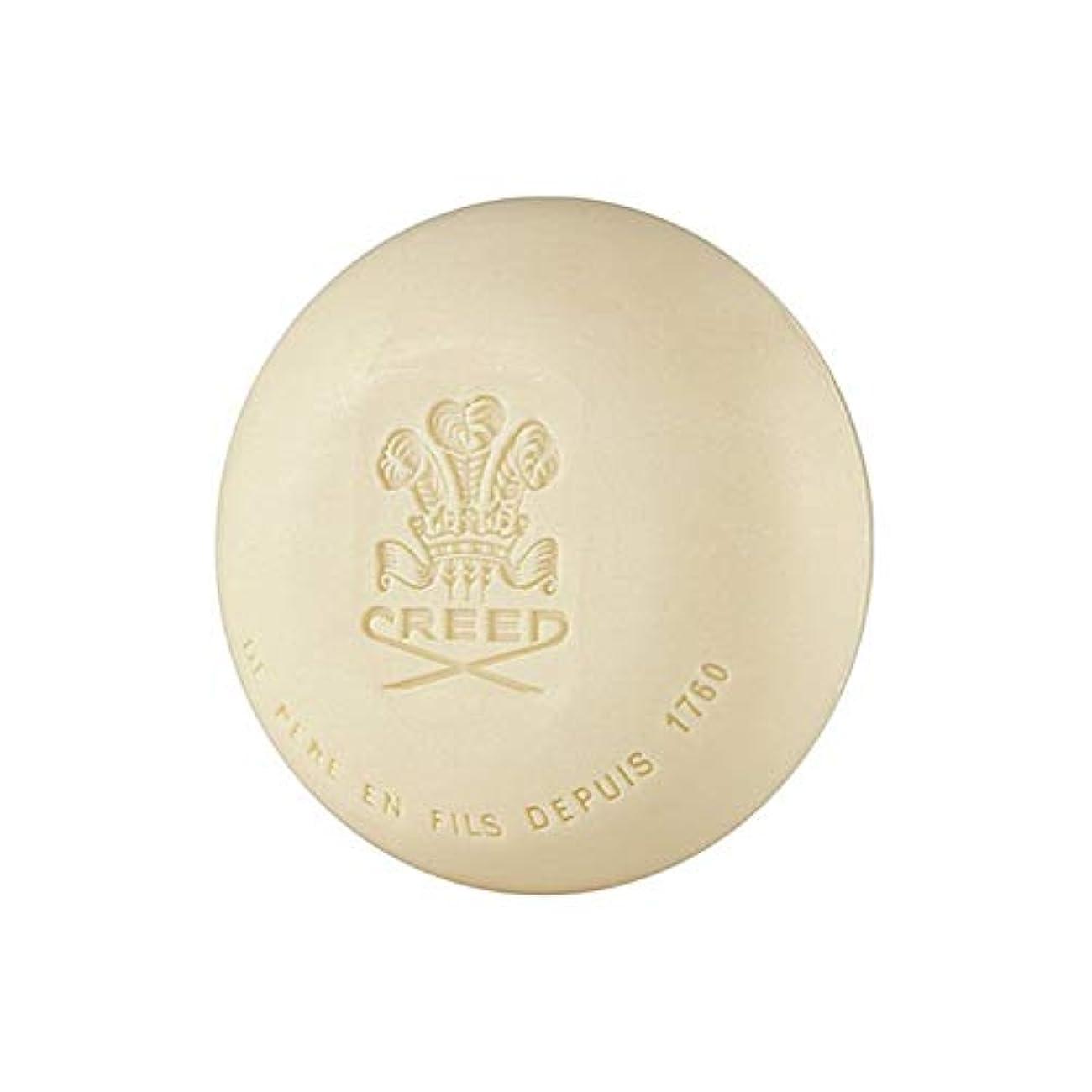 マーキー化学染色[Creed ] 信条元サンタル石鹸150グラム - Creed Original Santal Soap 150G [並行輸入品]