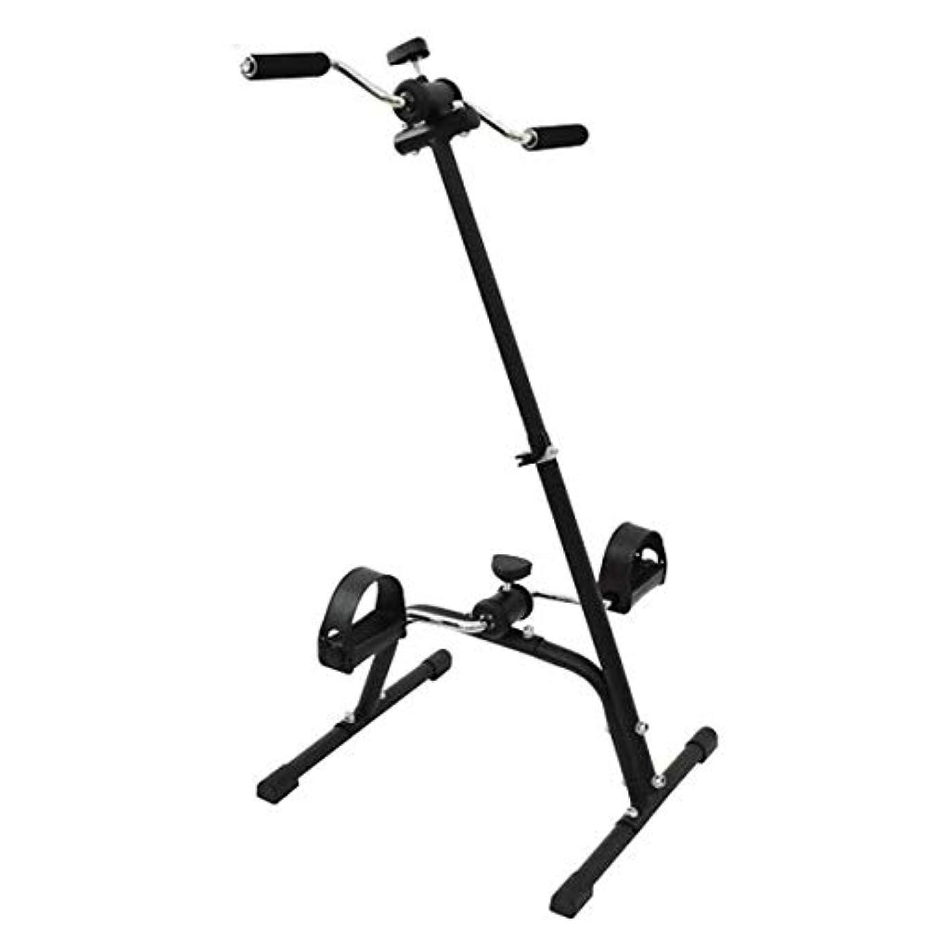 標準適切なクラフトホームレッグアームペダルエクササイザー、高齢者障害者リハビリテーション訓練ツール、上肢および下肢脳卒中片麻痺、自転車フィットネス機器のワークアウト,A