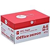 オフィスデポオリジナル コピー用紙 A4 5000枚 ハイホワイトプラス 1箱(500枚×10冊)