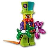 【開封済未使用品】 LEGO レゴ ミニフィギュアシリーズ18 パーティーピエロ【71021-04】
