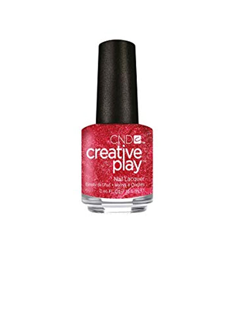 記念憂鬱なベルベットCND Creative Play Lacquer - Flirting with Fire - 0.46oz / 13.6ml