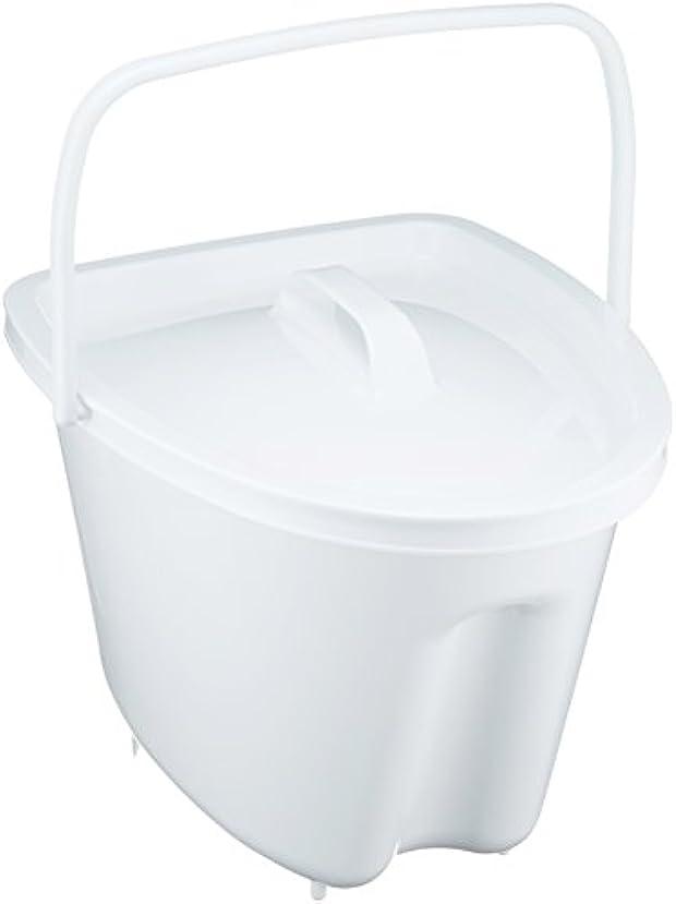 何もないディレクトリ豊富パナソニック ポータブルトイレ シャワポット はっ水剤入りポット ホワイト 10.5L
