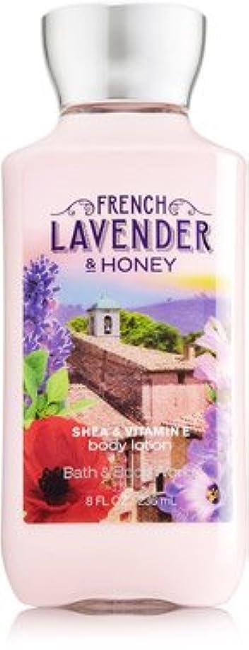 ブラケットロマンストラップバス&ボディワークス フレンチラベンダー French Lavender & HONEY ボディローション [並行輸入品]