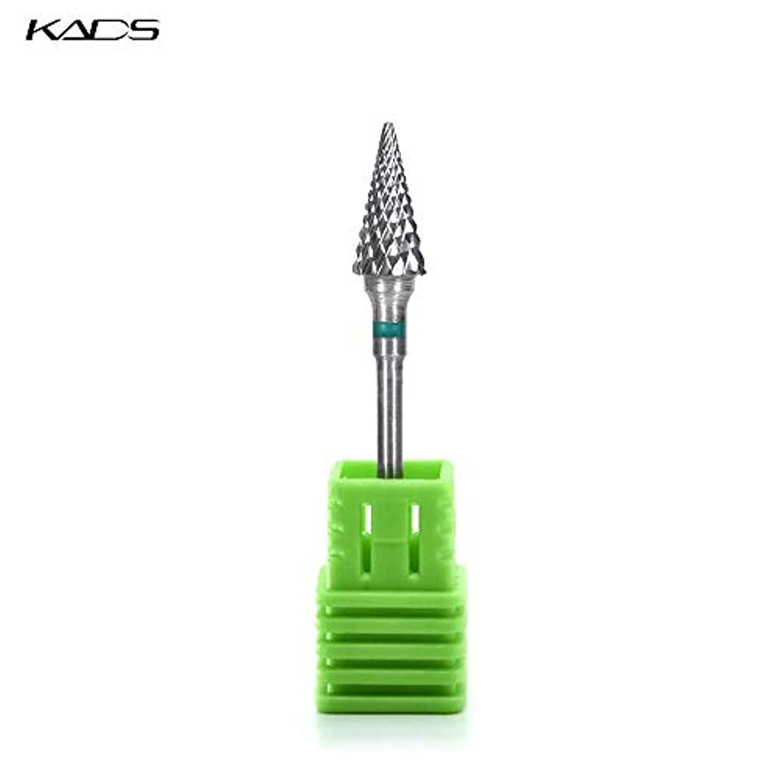 自分もつれ光沢のあるKADS ネイルドリルビット 研削ヘッド 研磨ヘッド 耐摩耗性 耐腐食性 高硬度 (C)