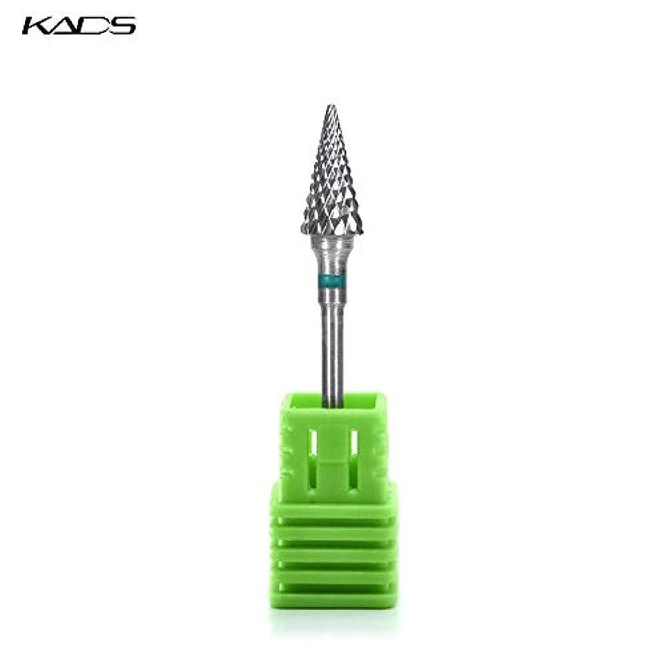 廃棄する図旅行者KADS ネイルドリルビット 研削ヘッド 研磨ヘッド 耐摩耗性 耐腐食性 高硬度 (C)