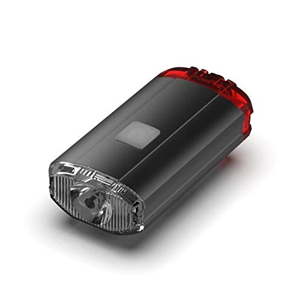 宇宙申し立てストローLumières de vélo rechargeables 400ルーメンUSB充電式自転車ライト - タフ&丈夫なIP 5防水&FL-1耐衝撃性 - スーパーブライトモデルF1000自転車用ヘッドライト - 通勤者、ロードサイクリスト、マウンテンバイク用 (Color : Black)