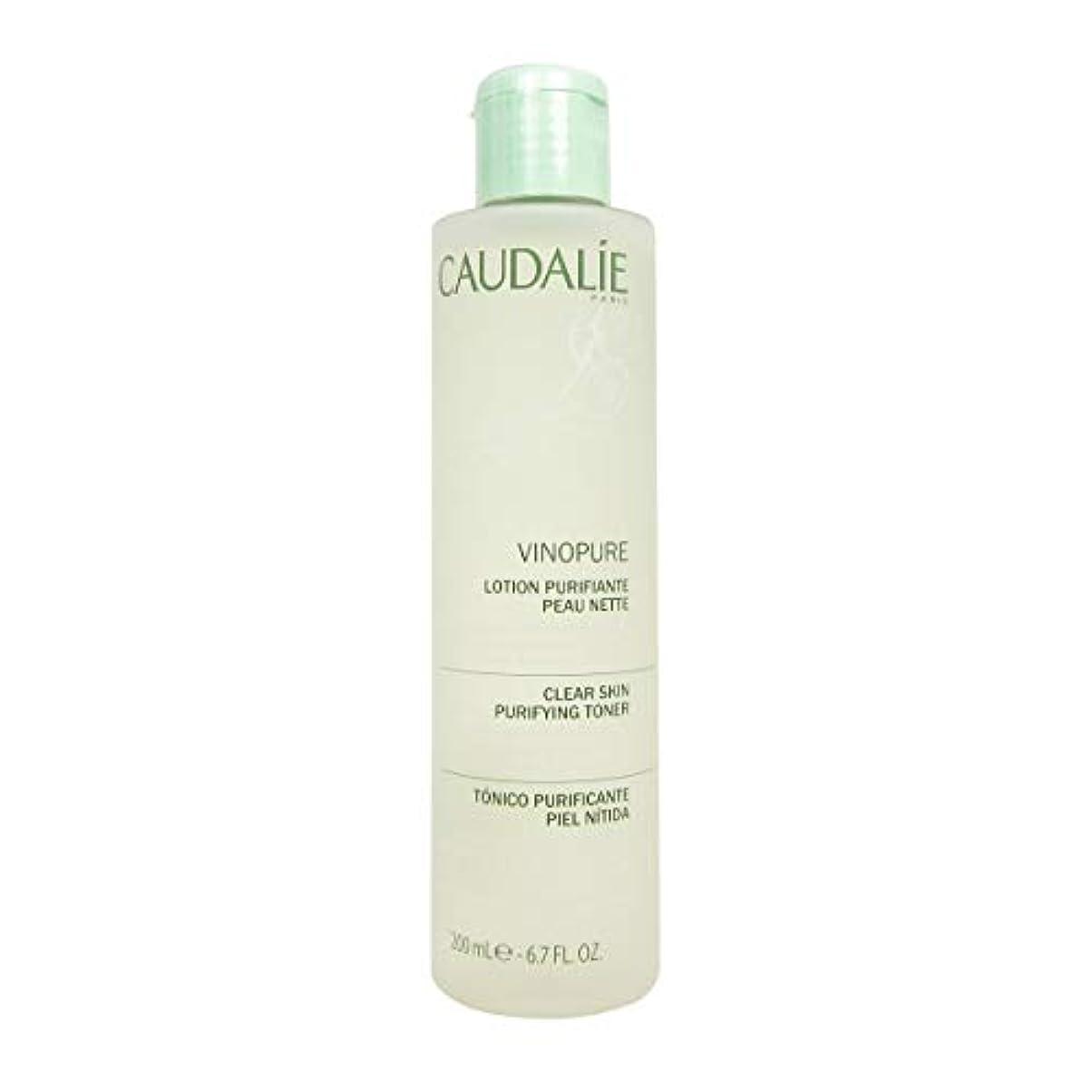 劇作家を除く主にCaudalie Vinopure Clear Skin Purifying Toner 200 Ml [並行輸入品]