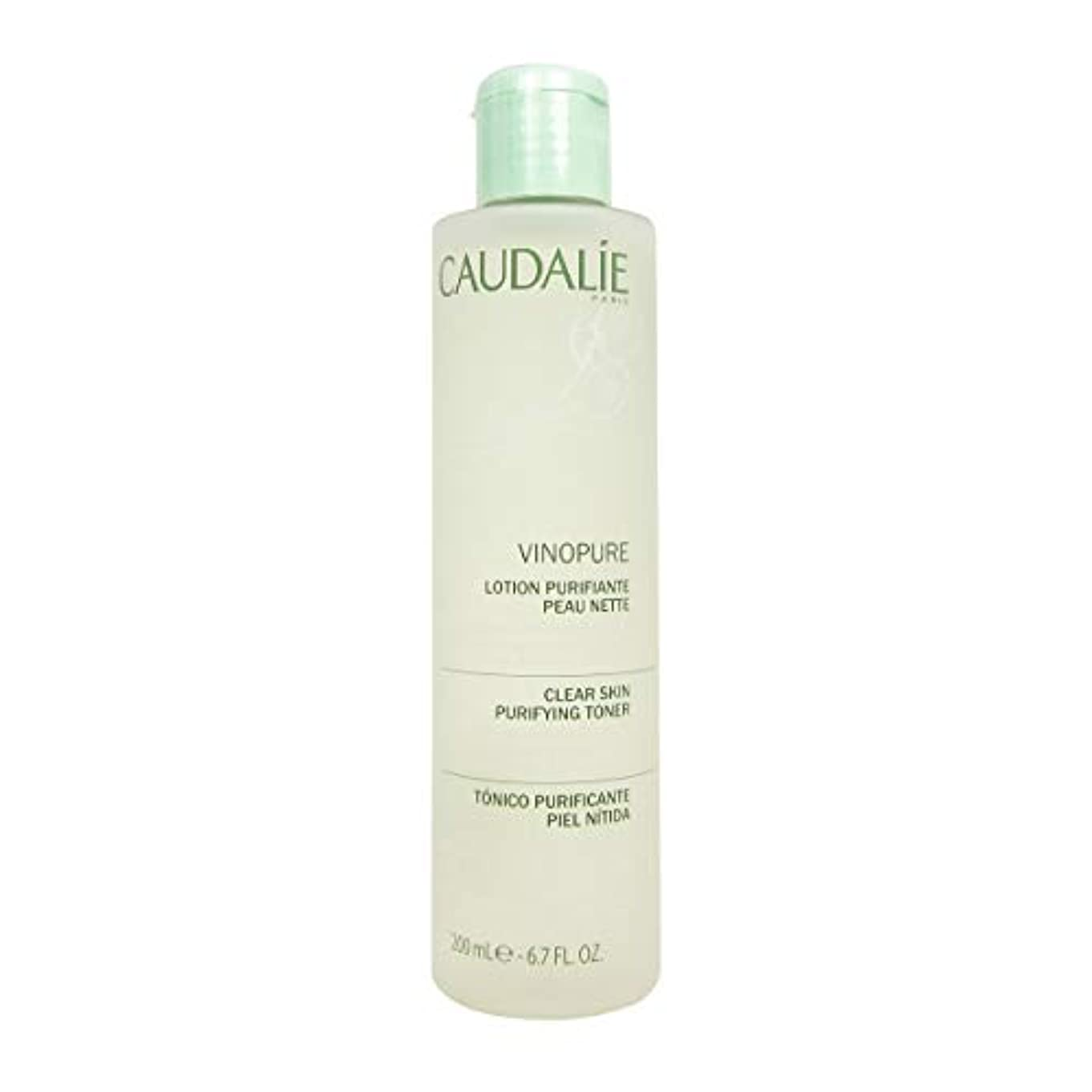 暖炉パラナ川カポックCaudalie Vinopure Clear Skin Purifying Toner 200 Ml [並行輸入品]