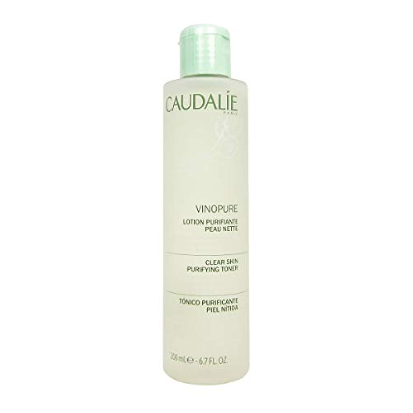軍隊軽量の間でCaudalie Vinopure Clear Skin Purifying Toner 200 Ml [並行輸入品]