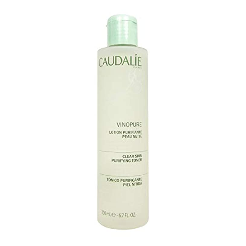 より多い体操選手硬さCaudalie Vinopure Clear Skin Purifying Toner 200 Ml [並行輸入品]