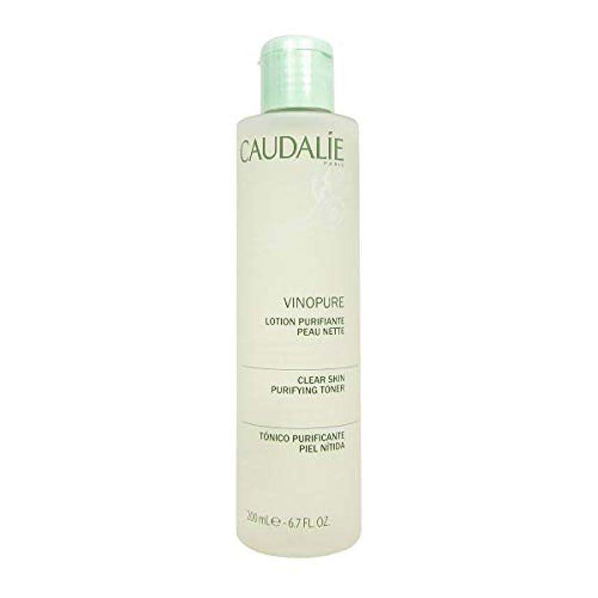 Caudalie Vinopure Clear Skin Purifying Toner 200 Ml [並行輸入品]