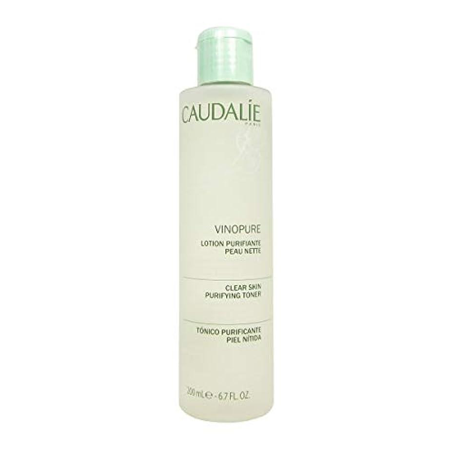 エスカレーター証言する借りているCaudalie Vinopure Clear Skin Purifying Toner 200 Ml [並行輸入品]