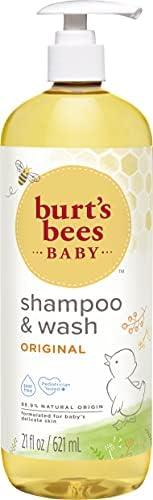 Burt's Bees Baby Bee Shampoo and Wash, 21 Fluid Ou
