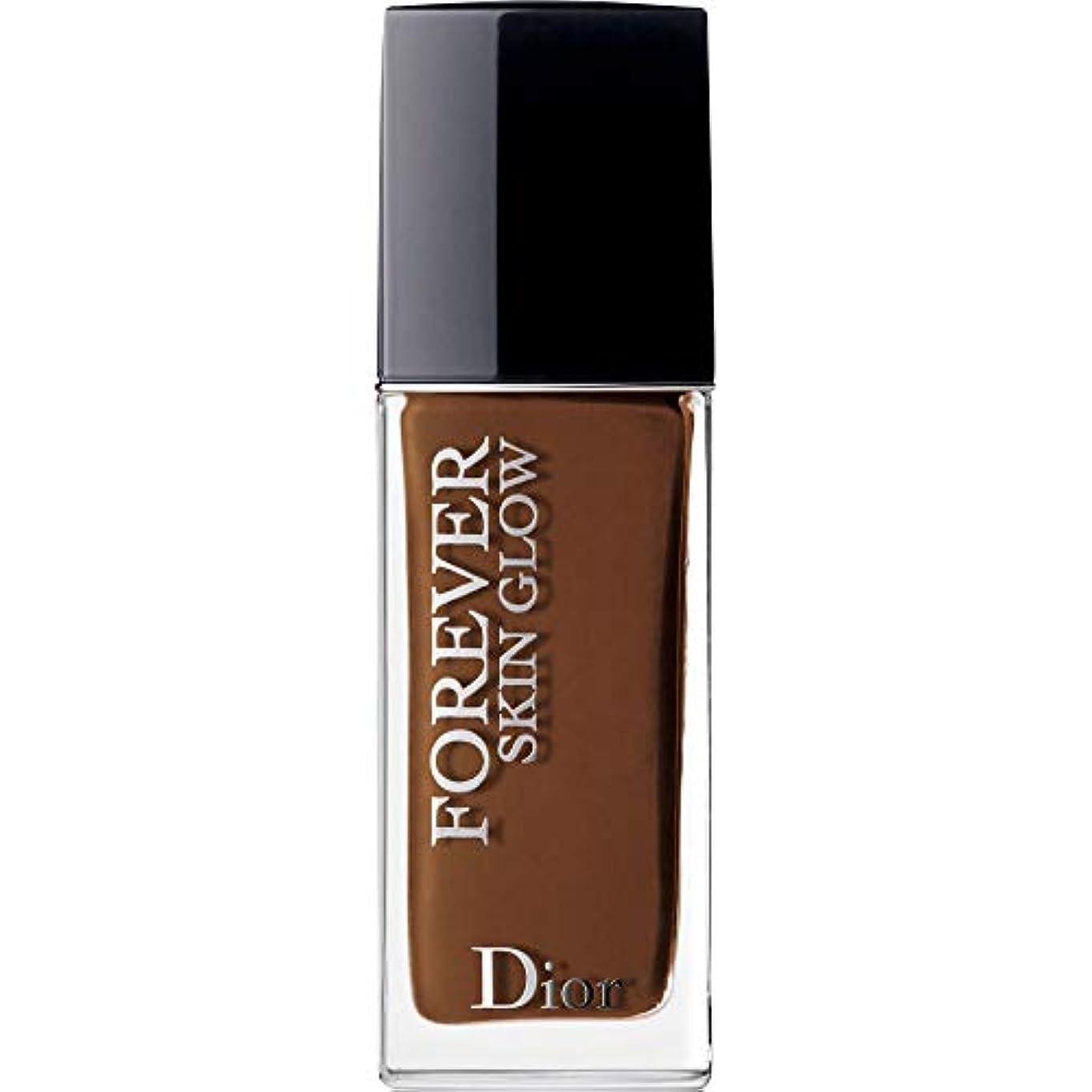 ファイナンス穴アイドル[Dior ] ディオール永遠に皮膚グロー皮膚思いやりの基礎Spf35 30ミリリットルの9N - ニュートラル(肌の輝き) - DIOR Forever Skin Glow Skin-Caring Foundation...