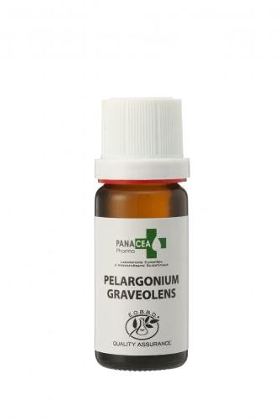 夕方引き出す伝記ゼラニウム エジプト (Pelargonium graveolens) エッセンシャルオイル PANACEA PHARMA パナセア ファルマ