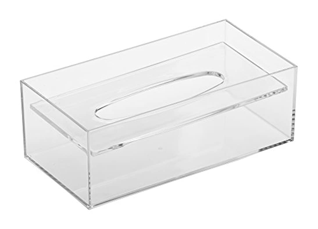 レシピ一致ストロー蝶プラ工業 デスコ ティッシュケース 透明 125×244×86H(mm)