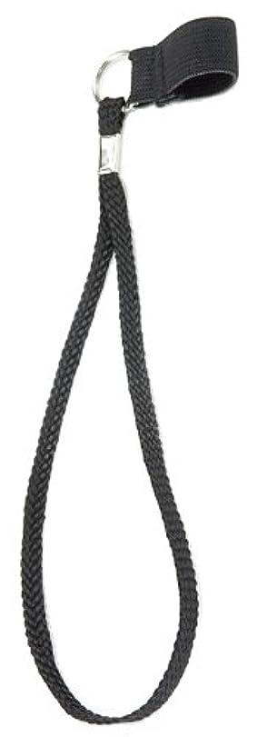 最高靄ラボマキテック ストラップ 1.6cm?1.9cm用 ブラック