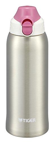 タイガー 水筒 800ml 直飲み コップ 付 2WAY ステンレス ボトル ポーチ付き サハラ ピンク ドット MBO-F080-P Tiger