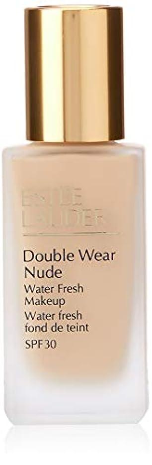 最大化する返還冷ややかなエスティローダー Double Wear Nude Water Fresh Makeup SPF 30 - # 1W2 Sand 30ml/1oz並行輸入品