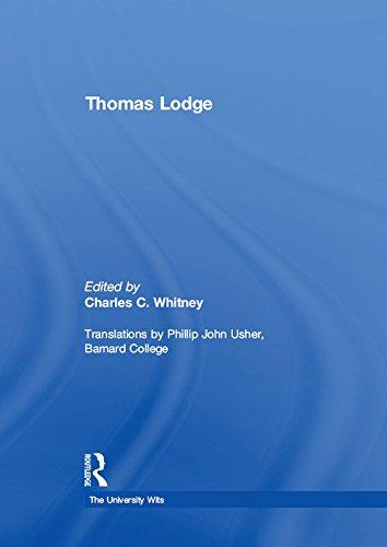 Thomas Lodge (The University Wits)