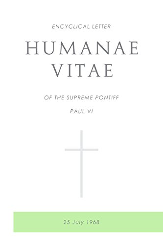 amazon co jp humanae vitae encyclical letter of supreme pontiff