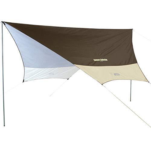 山善 キャンパーズコレクション テント UVヘキサゴンタープ RXG-2UV(BE)