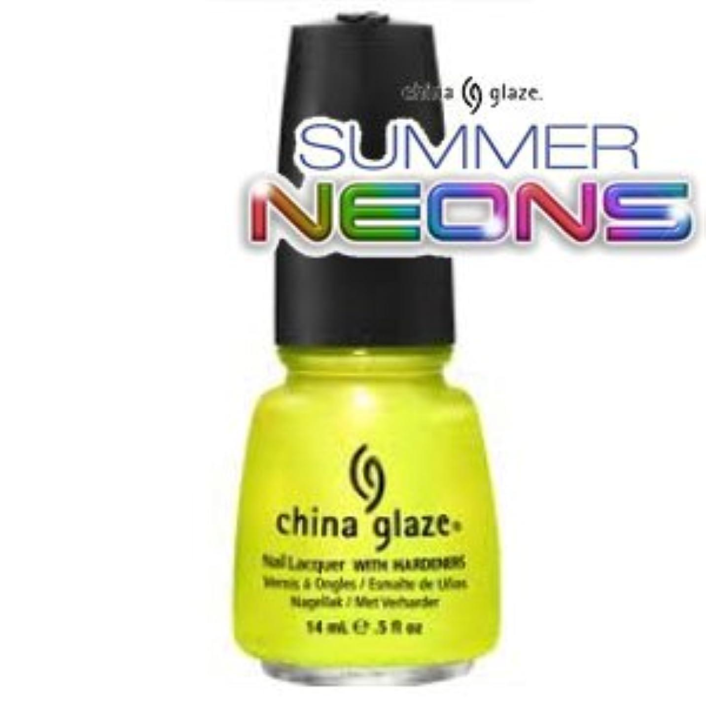 換気習字考え(チャイナグレイズ)China Glaze Sun Kissedーサマーネオン コレクション [海外直送品][並行輸入品]