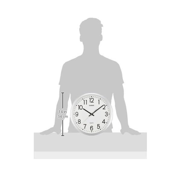 カシオ アナログ掛時計 スムース運針 IQ-7...の紹介画像3