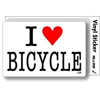 ILBT-039 アイラブステッカー I love BICYCLE (自転車) ステッカー