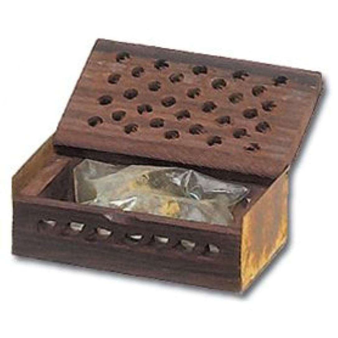 該当する伝導率防止Golden Amber樹脂ギフトボックス- 3グラム
