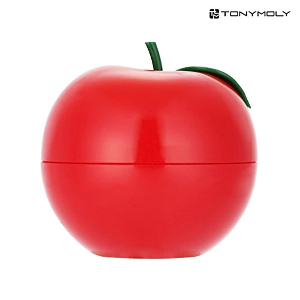 枯れる降下忘れっぽいTONYMOLY トニーモリー レッド?アップル?ハンドクリーム 30g (Red Apple Hand Cream) 海外直送品