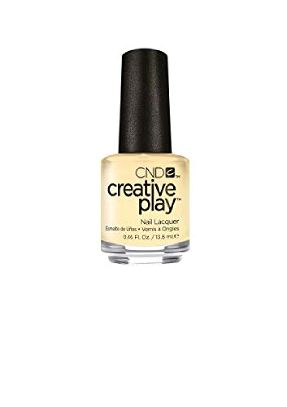 擁するコンパクト急ぐCND Creative Play Lacquer - Bananas for You - 0.46oz / 13.6ml
