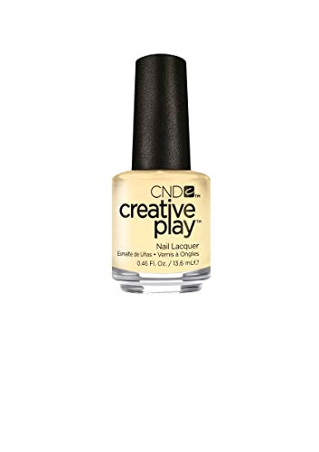 登録するグリル分注するCND Creative Play Lacquer - Bananas for You - 0.46oz / 13.6ml