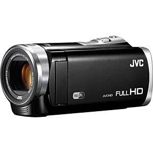 ビクター JVC SD対応 32GBメモリー内蔵フルハイビジョンビデオカメラ (クリアブラック)GZ-EX380-B