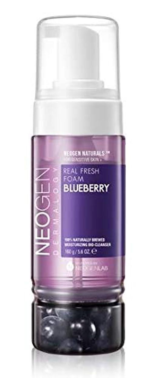 盆地温かいワゴン[NEOGEN] REAL FRESH FOAM Blueberry 160g / [ネオゼン] リアルフレッシュフォーム ブルーベリー 160g [並行輸入品]