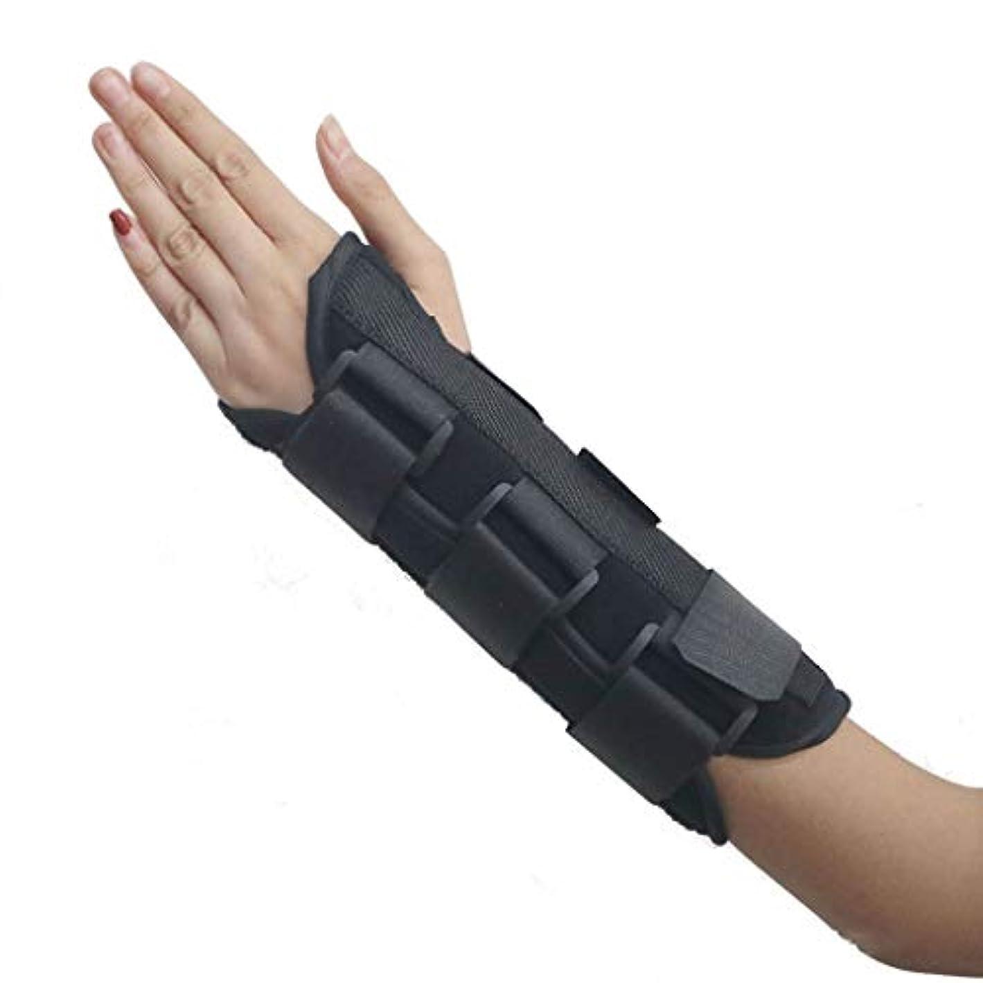 突然安らぎ潜む指関節炎外反母趾矯正親指手首の傷回復回復スプリント、指セパレーター手矯正手根管、関節痛緩和矯正器,Righthand,M