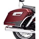 ハーレーダビッドソン/Harley-Davidson スイッチバックリアサドルバッグガード/クローム/90201044■ハーレーパーツ■サドルバッグガード /DYNA