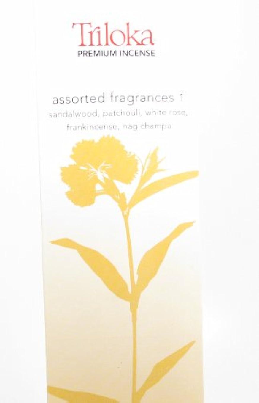 ティッシュデジタル議題Triloka - 優れた香は芳香1を分類した - 10棒