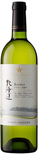 日本ワイン グランポレール 北海道 ケルナー 遅摘み 750ml