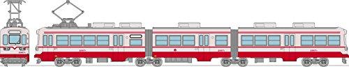 鉄道コレクション 鉄コレ 筑豊電気鉄道 2000形 2007号 赤 ジオラマ用品 (メーカー初回受注限定生産)