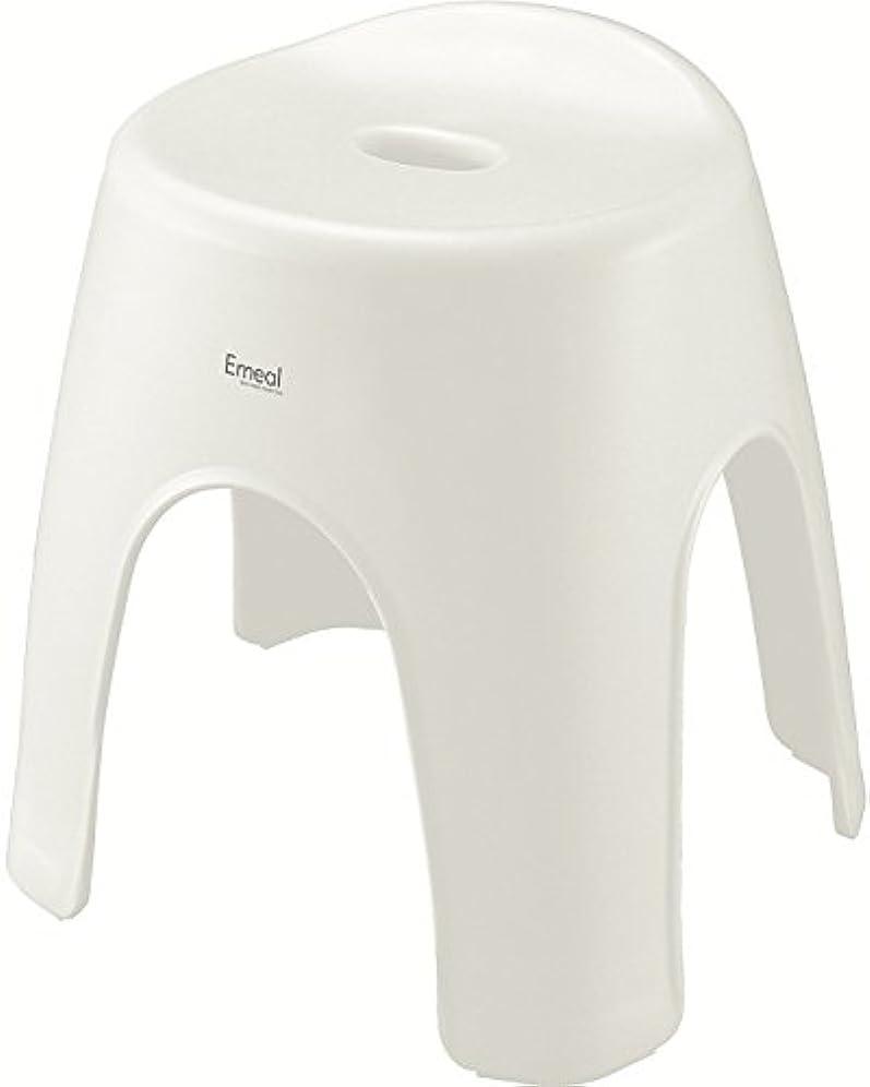 信号熱心な保持アスベル 風呂椅子 エミール 高さ35cm Ag 抗菌 ホワイト