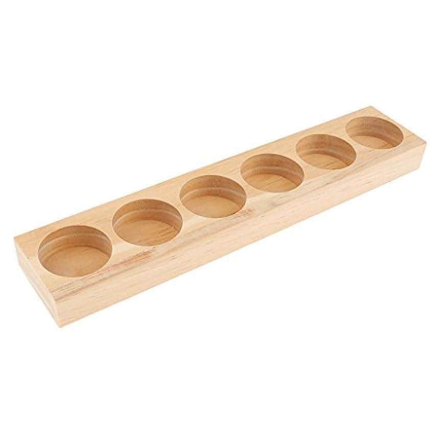 サイドボード急流成人期Fenteer オイルホルダーディスプレイ オイルホルダー 木製 トレイ オーガナイザー 全5タイプ - 21.8x4.3x1.8cm