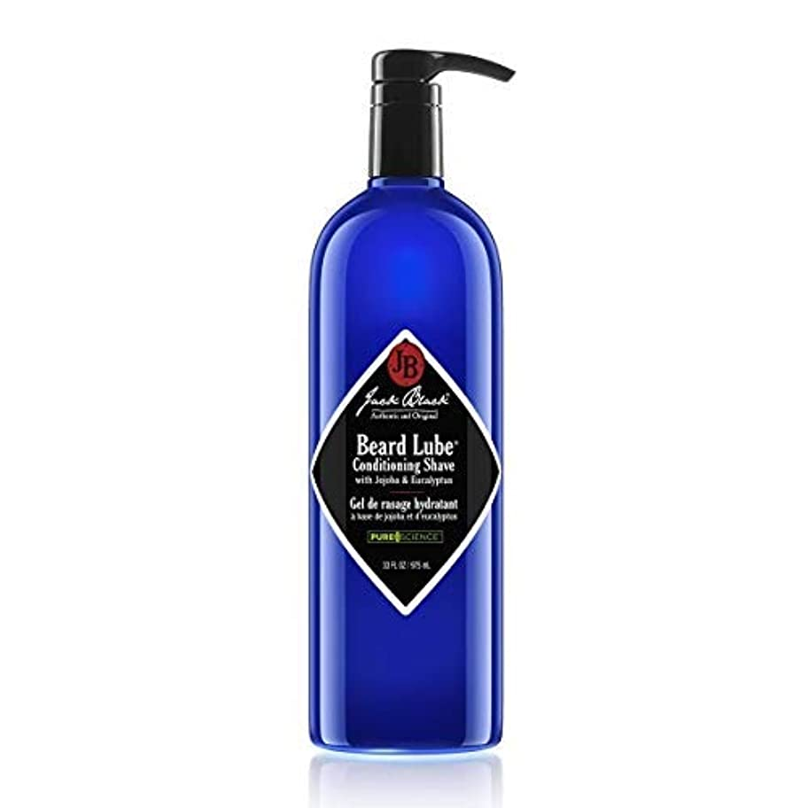 影のある蛾含めるJack Black Beard Lube Conditioning Shave 33 fl. oz. [並行輸入品]