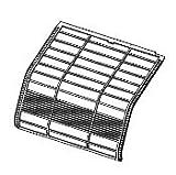 【部品】シャープ エアコン エアフィルター 対応機種:AY-Z28VX他多数。ご購入前に必ずお問い合わせください。
