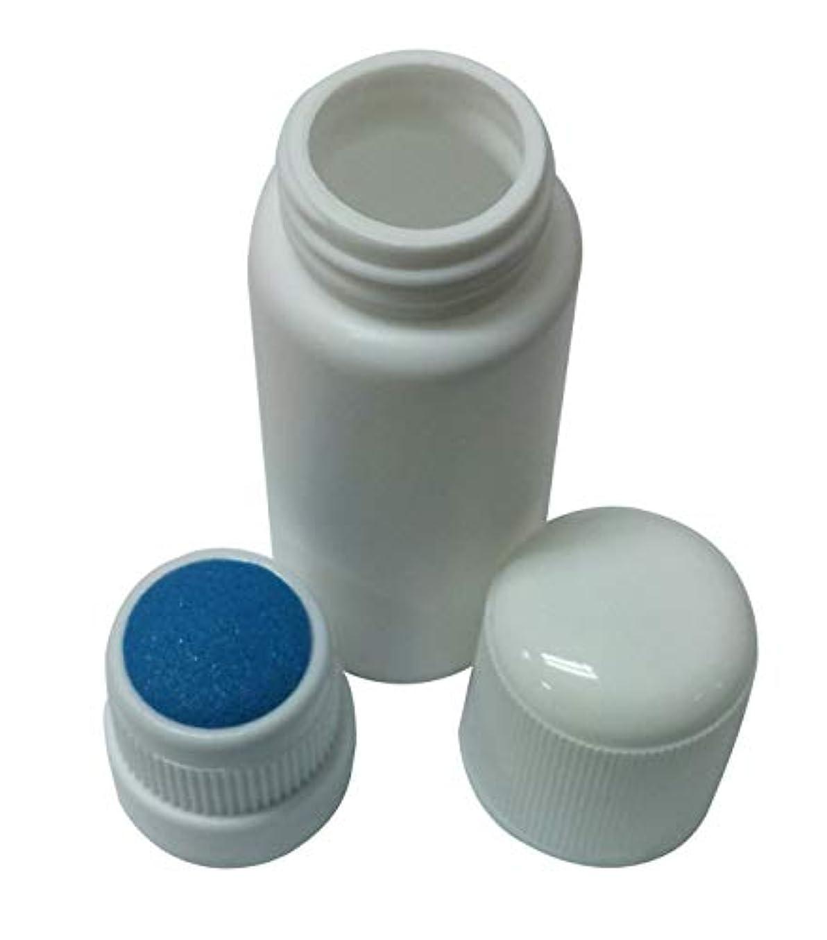 一挽く隣接するプラスチック?ボトル エンプティー Plastic Bottle リキッド メディシン Blue スポンジ Top アプリケーター 30ml 並行輸入