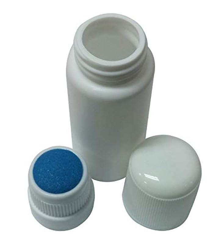 大陸協会不規則なプラスチック?ボトル エンプティー Plastic Bottle リキッド メディシン Blue スポンジ Top アプリケーター 30ml 並行輸入